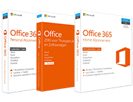 MS Office 365 pakketten